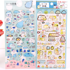 Kawaii, cute, bookmarksticker, schoolofficesupply
