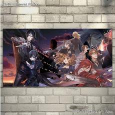 ronaldknox, blackbutler, art, Posters