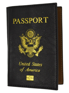 leather, usalogopassportcoverholder151usapu, Travel Accessories, Cover