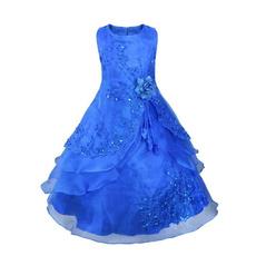 gowns, Flowers, Princess, kidsdres