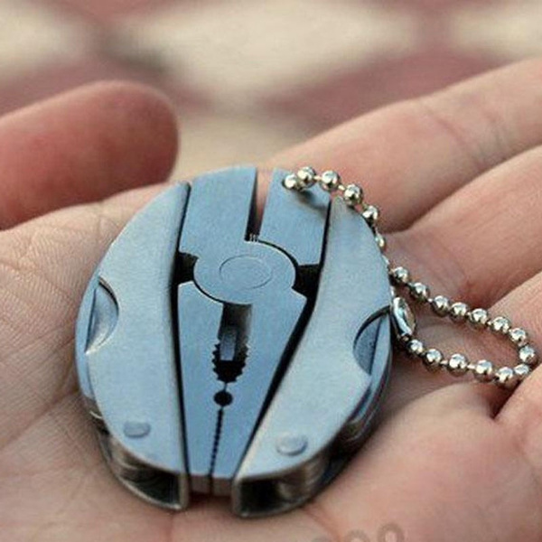 Outdoor, Key Chain, Tool, Stainless Steel