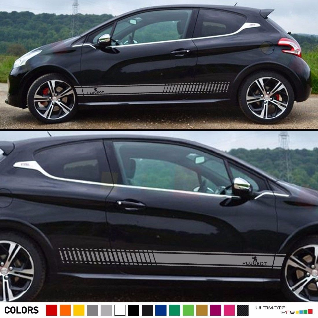 Stickers Peugeot Sticker Auto Logo ref13 Tuning Sticker Car