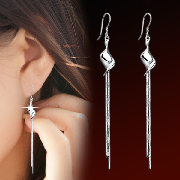 Tassels, Fashion, Jewelry, Stud Earring
