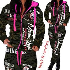 fashion women, Fashion, womencamouflagesuit, pants