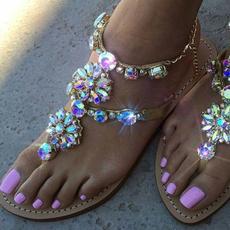 bohemia, Sandals & Flip Flops, strappysandal, Thong