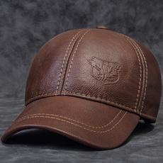 Adjustable Baseball Cap, leather, mensbaseballcap, Fashion Accessories