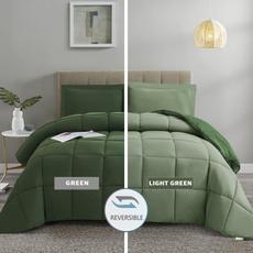 Gray, comforterking, Dark, Comforters