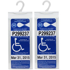 disabilityplacardholder, handicapsigncover, Sleeve, handicapparkingsign