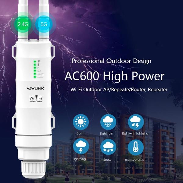 Wireless Routers, weatherproof, highpower, wavlinkac600