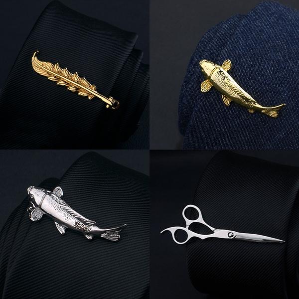 Clip, Pins, Men, Metal