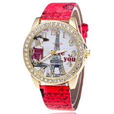 cute, quartz, Clock, Watch