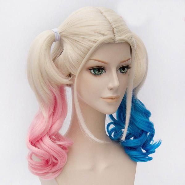 pink, wig, suicide, Cosplay