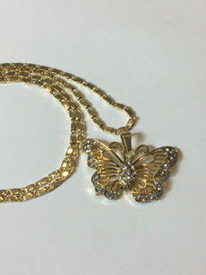 butterfly, goldbutterflynecklace, Jewelry, gold
