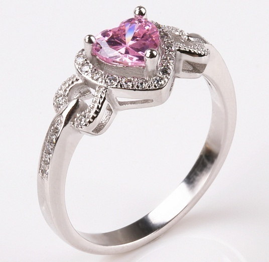 pink, Heart, DIAMOND, Jewelry