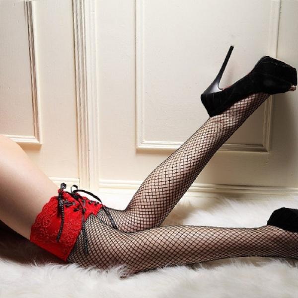 Leggings, Lace, Fish Net, Socks