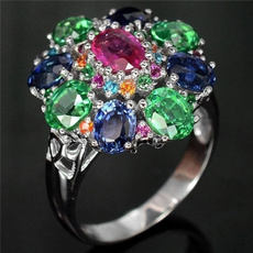 Sterling, diopside, Silver Jewelry, DIAMOND