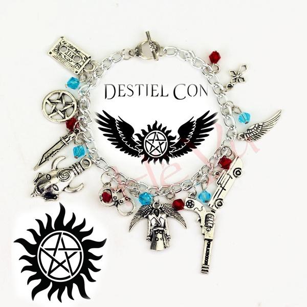Charm Bracelet, dean, Wristbands, Gifts