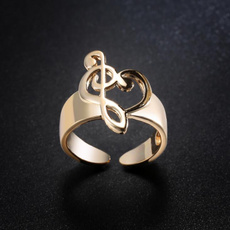 goldplated, Joyería, 925 silver rings, gold