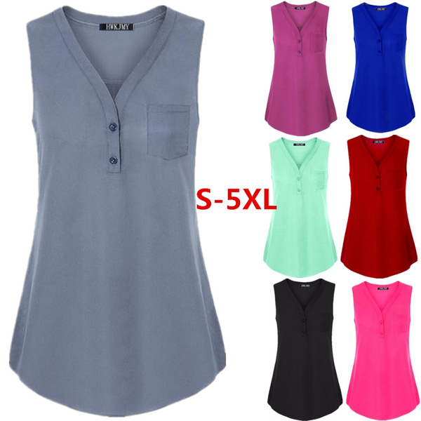 sleeveless tank tops for women