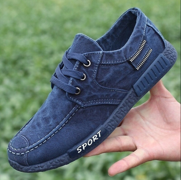 Cloth Shoes Korean Lace Shoes Men