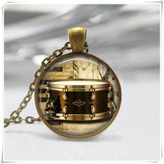 jewelrymusic, drum, pendantinstrument, Necklace