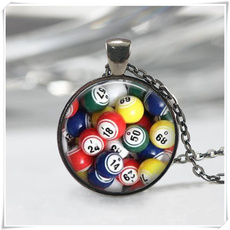 bingo, Ball, art, Jewelry