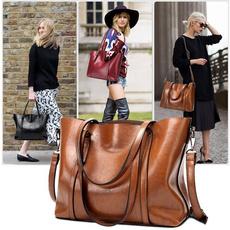 Shoulder Bags, Tassels, Tote Bag, leather