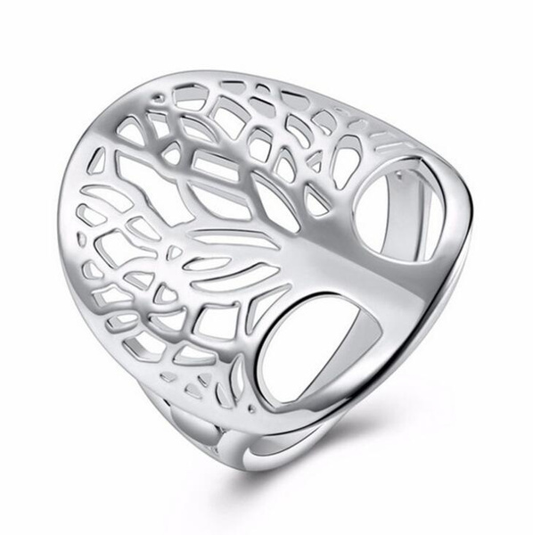 Sterling, leaf, Jewelry, 925 silver rings