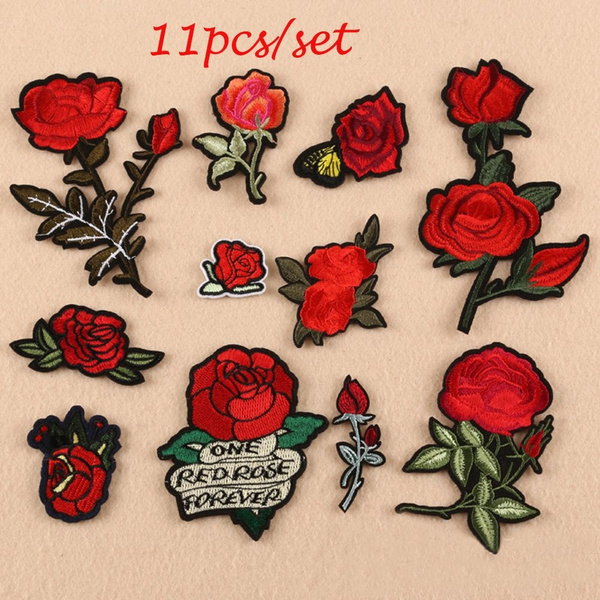 Flowers, flowerapplique, Craft, Sewing