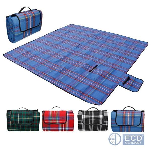 Picknickdecke XXL 200x200cm Campingdecke Reisedecke Stranddecke Picknick Decke