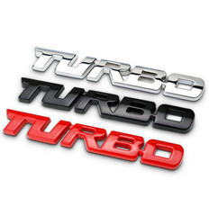 turbo, Emblem, Adhesives, Autos