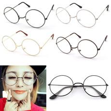 gold, Vintage, roundglasse, glasses frame