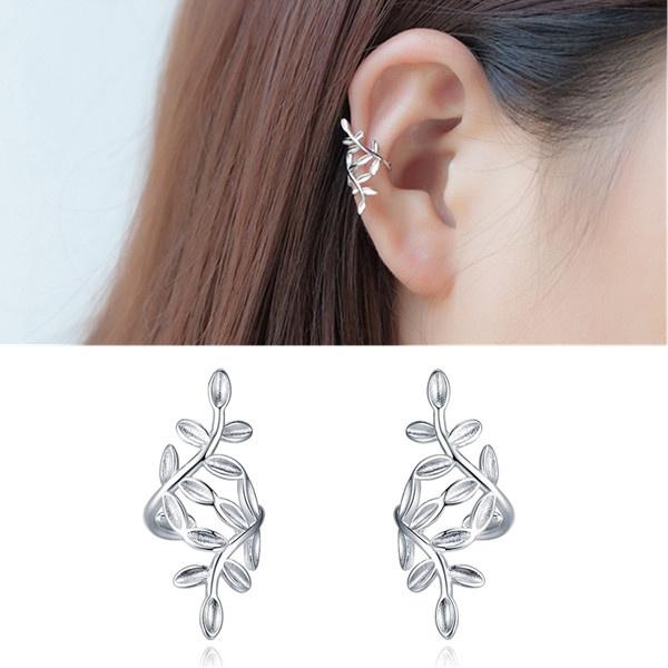 Sterling, leaf, Jewelry, silver
