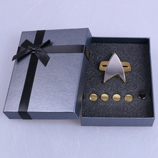 Star, starfleetbadgepin, Cosplay, startrekcommunicatorbadge