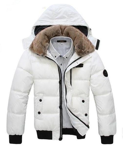 Plus Size, Winter, Coat, Men