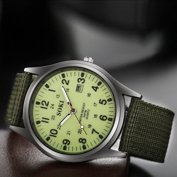 military watch, Fashion, fashion watches, quartz watch