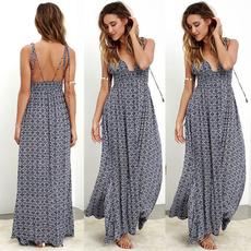 Summer, summer dress, boho, chiffon dress