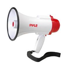 handheldmegaphone, bullhornwithsiren, megaphonewithvoicerecorder, pyle