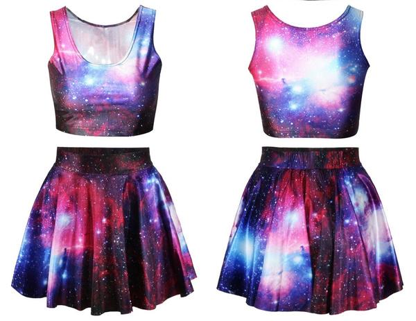 Summer, casualsuitskirt, skirtsuit, fashionpleatedskirt