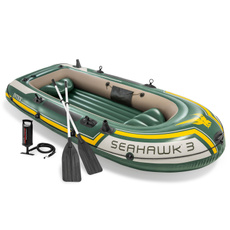 inflatableboatwithpump, Aluminum, Inflatable, 3personinflatableboat