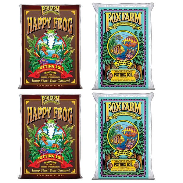 happyfrogpottingsoil, foxfarmsoil, soil, soilmix