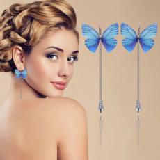 butterfly, charmearring, Fashion, butterfly earrings