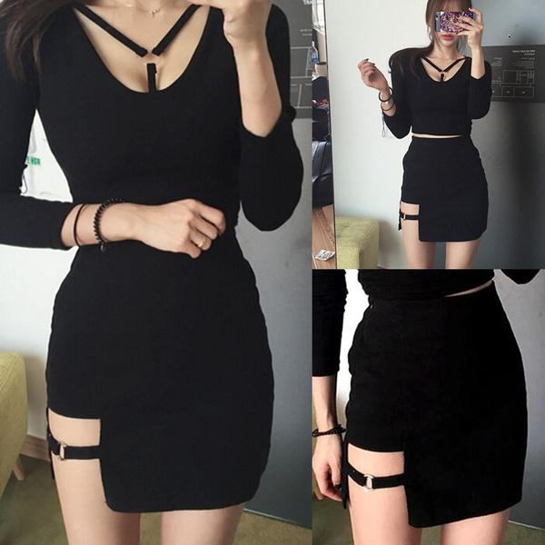 Mini, Design, high waist, Bottom