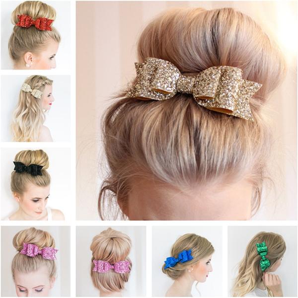 girlshairband, Fashion, bowknothairpin, headwear