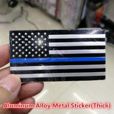 decalsampbumpersticker, Blues, Lines, thinbluelineamericanflag