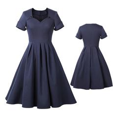 Swing dress, Shorts, pleated dress, Vintage Dresses