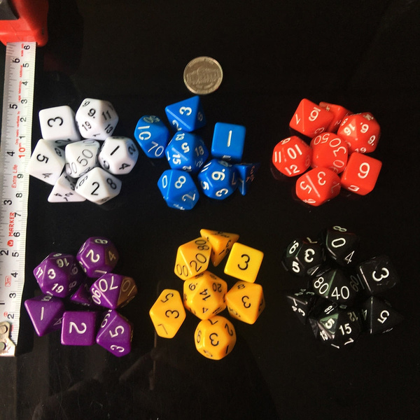 rainbow, rpgdice, Dice, accessoriesdice