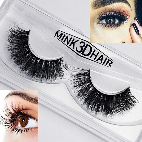 Eyelashes, mink, eye, Eye Makeup