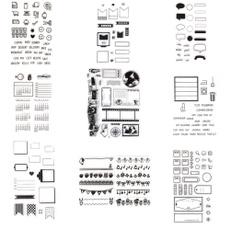 scrapbookingdiy, Stamping, Silicone, Pattern