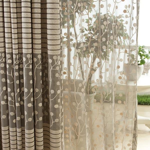 windowstreatment, living room, Home Decor, balconycurtain